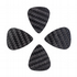 Carbon Tones Semi (20 Thou) 4 Guitar Picks